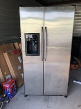 GE stainless steel fridge in The Woodlands, Texas