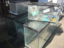 Fish tanks in Fort Polk, Louisiana