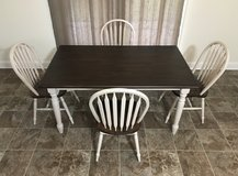Country Farm Style Dining Set in Cary, North Carolina