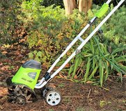 REDUCED Greenworks 8-Amp 10-in Corded Electric Cultivator in Fort Drum, New York