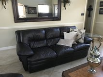 2 Leather Sofas, 2 Chairs & 2 Ottomans in Baytown, Texas