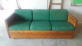 This Ends Up Furniture Company - Solid Pine Wood Couch (three seater) in Warner Robins, Georgia