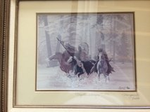 """Marguerite Fields/ Signed lithograph """"Mystic Warriors"""" 42/500 in Bartlett, Illinois"""
