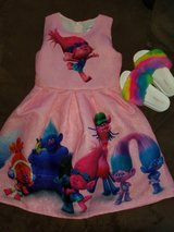 Trolls Dress with troll Shoes in Fort Leonard Wood, Missouri