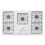 Amana 36 in. Gas Cooktop in White with 5 Burners AGC6356KFW in Fort Lewis, Washington