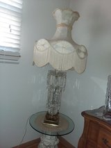 Vintage Crystal lamp in Algonquin, Illinois