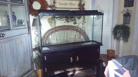 Aquarium 65 gallon, stand and Fluval canister filter in Fort Polk, Louisiana