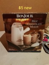 Hot chocolate maker in Vacaville, California