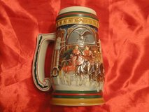 Vintage, collectible Budweiser Holiday Sterin 1997 mug in Houston, Texas