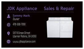 APPLIANCE REPAIR in Warner Robins, Georgia
