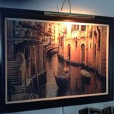 Canals of Italy wall art in Fort Drum, New York