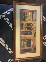 Market print with Gold Frame in Beaufort, South Carolina