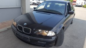 Bmw 320i six cylinder new inspection in Hohenfels, Germany