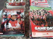Vintage Nebraska football programs/media guides in Bellevue, Nebraska