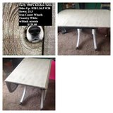 Early 1900's Dining room table $75. With 4 Solid Maple chairs $150 in Hopkinsville, Kentucky