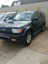 2001 TOYOTA 4 RUNNER CLEAN TITLE in The Woodlands, Texas