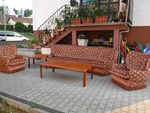 Three-piece Couchset and Matching Tables in Ramstein, Germany