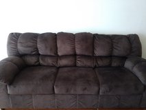 Week old Brown suede couchset in Lawton, Oklahoma