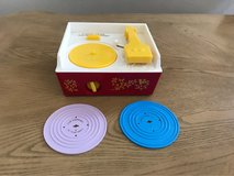fisher Price toy record player & two records in El Paso, Texas