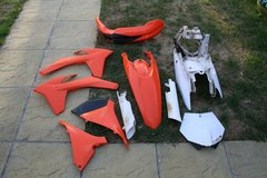 KTM 2012 Plastics in Lakenheath, UK
