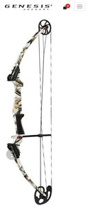 Genesis Original Compound Bow - White Camo in DeRidder, Louisiana