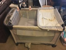 Convertible Play Pen / bassinet / changing station in Fort Polk, Louisiana
