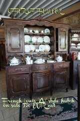 antique Louis XV style dining room hutch in Spangdahlem, Germany