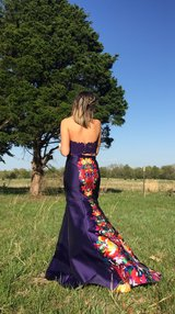 Signature Print Mikado Prom Dress by Ellie Wilde in Fort Leonard Wood, Missouri