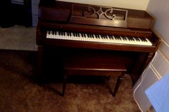 Piano and Bench Seat in Roseville, California