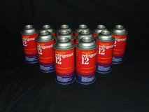 R12 Refrigerant 12 oz cans 1 Case of 12 Chargette ~ New in Box in Glendale Heights, Illinois