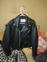 Excelled vintage genuine leather made in the USA jacket in Huntsville, Alabama