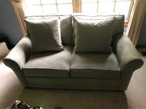 sofa mint green couch 2 & 3 seat in Tinley Park, Illinois