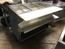 Three compartment steam table in Tinley Park, Illinois