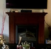 Electric Fireplace With Blower Heater in Oswego, Illinois