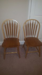 Brown Wood Chairs (2) ---- OBO in Pearland, Texas