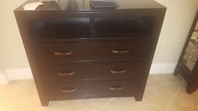 Black Dresser OR TV Stand (Gently Used) ---- OBO! in Pearland, Texas