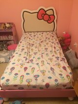 hello kitty bed twin no mattress in Morris, Illinois