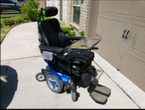 Powerchair Permobil m300 (OBO) in Pearland, Texas