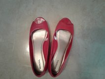 Like new size 9 1/2,   red shoes in Okinawa, Japan