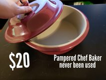 Pampered Chef Baker REDUCED in Okinawa, Japan