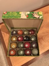 Antique Wooden Pool Table Ball Rack in Naperville, Illinois