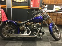Custom Harley in Morris, Illinois