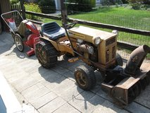 15 HP Montgomery Ward Tractor and attachments. in Joliet, Illinois