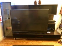 tv stand and tv in Fairfield, California