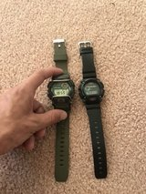 2 gshock watches in Camp Pendleton, California