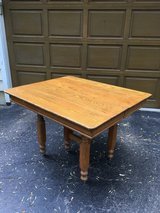 Antique Oak Table in Plainfield, Illinois