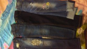 Girls 7/8 Jeans (4) in Cleveland, Texas