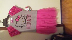Girls 7/8 Hello Kitty & Frozen tutu dresses in Cleveland, Texas