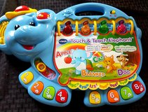 Vtech Touch & Teach Elephant in Travis AFB, California