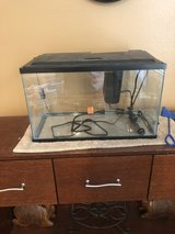 Fish tank with heater and pump in Fort Carson, Colorado